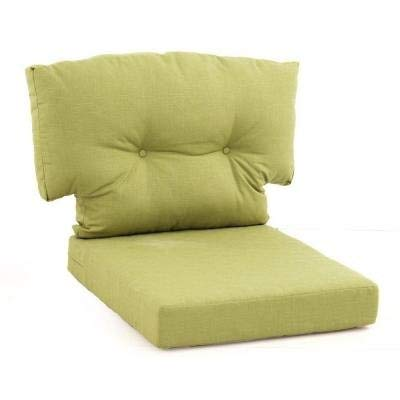 Charlottetown Green Bean Replacement Outdoor Swivel Chair Cushion (Replacement Rattan Chair Cushions Swivel)