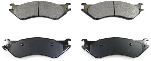 DuraGo BP702 MS Front Semi-Metallic Brake Pad