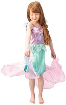 Rubies 3 883674 S - Disfraz de Ariel para niña (3 años) (talla S ...