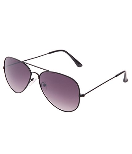 Gansta Aviator Sunglasses (Black)(GN-3002-Blk-Gry)
