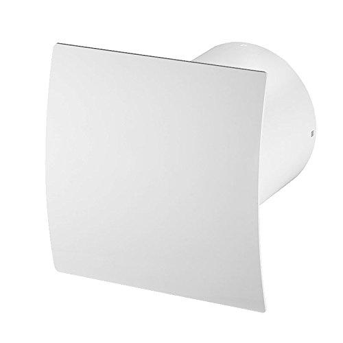 aspiratore per bagno da parete diametro 100 cuscinetto a sfera silenzioso standard vitara linea sistema 100 white