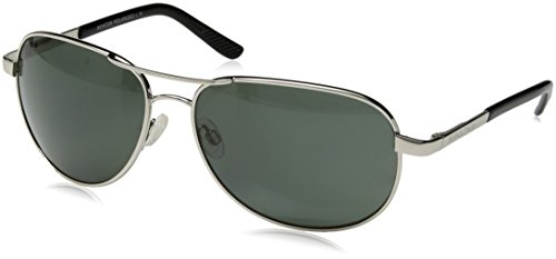 Suncloud Polorized Optics AVIATOR Metal Frame Silver /Lens - Suncloud Aviator Sunglasses Polarized