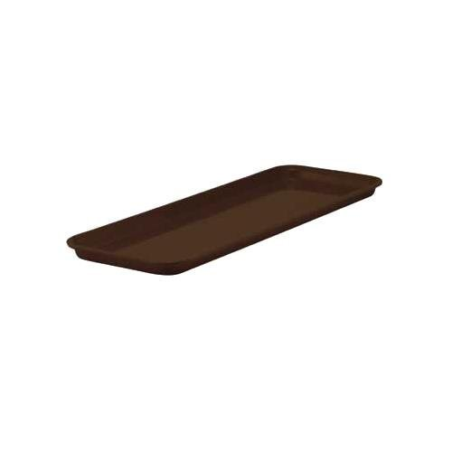 Winco FGMT-0926B Fiberglass Market Tray, 9-Inch by 26-Inch, Brown - Fiberglass Market Tray