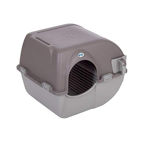 Omega Paw Products RA20 Self Cleaning Litter Box (Small, 17 Inch W x 20 Inch D x 16 Inch H)
