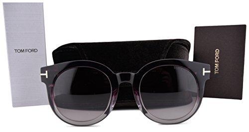 Tom Ford Sunglasses FT0435 Janina Purple Gradient w/Purple Gradient Lens 83T TF - Tom Purple Ford Eyeglasses