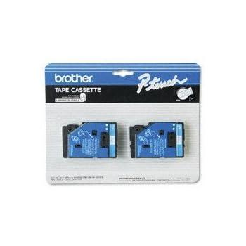 """Brother P-Touch Tape Cartridges TC-22,TC-20,TC-13,TC-11,TC-10 Labelers 1//2/""""w,"""