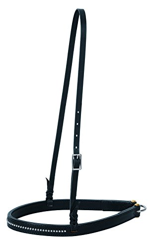 Weaver Leather Back In Black Noseband, B - Weaver Noseband Horse Shopping Results