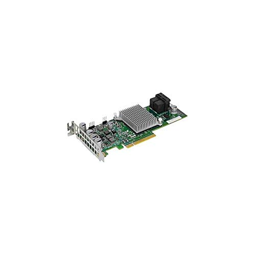 Supermicro 12Gb/s Eight-Port SAS Internal RAID Adapter AOC-S3008L-L8E
