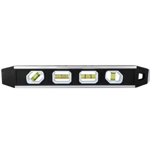 Johnson Level and Tool 1421-1200 12-Inch Magnetic Aluminum Reinforced Torpedo Level