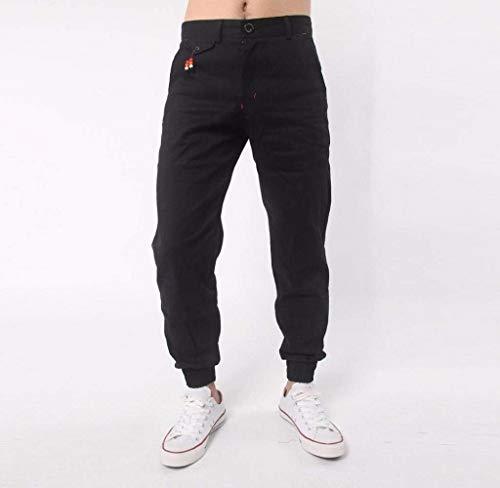 Pantalones para Pantalones Ropa para Harem Deportivos Trotar Pantalones Deportiva Casuales Hombres para Skinny Joggers Fashion Pantalones Lannister Vaqueros Cómodos Negro Joggers Pantalones Z4wqXnE