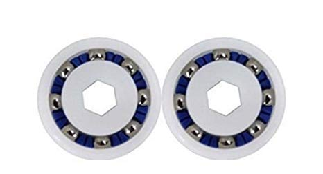 - (Pool&Spa Repl Parts) 2 Pack Wheel Ball Bearing for Polaris 360 380 3900 ATV Pool Cleaner 9-100-1108