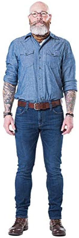 Blaumann Kansas - bardzo wąskie męskie dżinsy z wygodnym dopasowaniem: Odzież