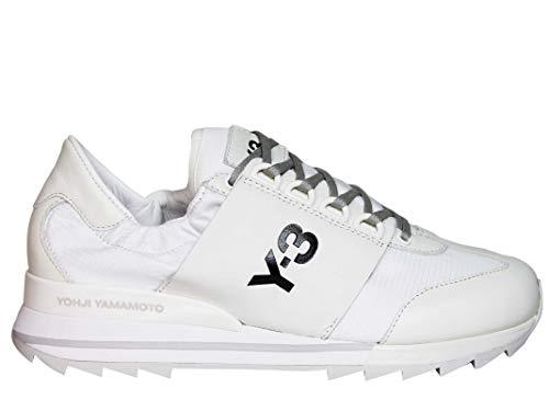 Adidas Y-3 Yohji Yamamoto Women's Ba7857 White Leather Sneakers