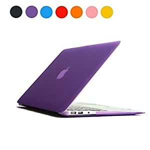 "ZCL Solid Color Frosted PC Hard Case for MacBook Air 11""(Assorted Colors) , Blue"