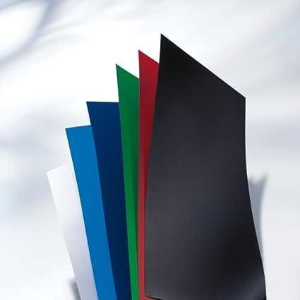 Portadas de encuadernaci/ón GBC IB386831 PolyCovers ClearView 100 unidades, polipropileno, tama/ño A4, 300 micrones color negro