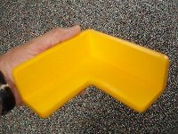 Boing Safety 2D Jumbo Corner Guards (4 Pack) (Yellow)