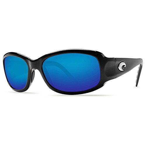 Costa Del Mar Vela Black/Blue Sunglasses - Sunglasses Del Costa Mar Used