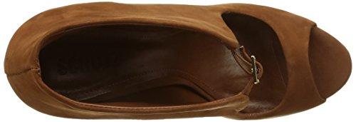 Zapatos Beige para Mujer Vestir Schutz Wood de 12050310 6qx5wf4F