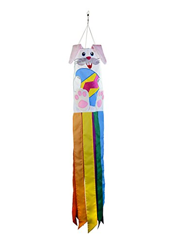 - In the Breeze 5052 Bunny 3D Windsock-Easter Holiday Hanging Decoration, 40 Inch,