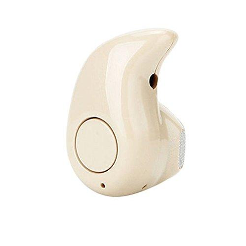 Haotfire Mini Ultra-small S530 Hands-free Stereo Bluetooth Headset Earphone Earbud (Nude, - Nude Flash Video