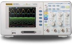 Oscilloscope Logic Analyzer (Rigol DS1102D 100MHz Digital Oscilloscope with Logic Analyzer )