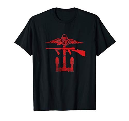 Unit T-shirt Commando - British Commandos Army World War 2 Forces T-Shirt