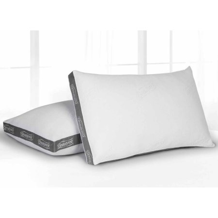 Beautyrest Bed Pillow - Beautyrest Luxury Spa Comfort Pillow, Set of 2 (Queen)
