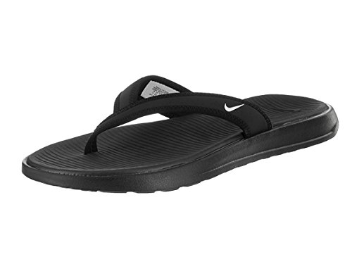 91c5fd131 Galleon - Nike Womens Celso Thong Plus Sandal Black White 5