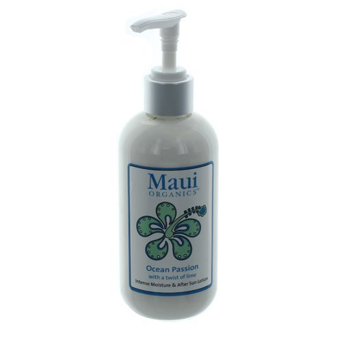 Maui Organics Intense Moisture and After Sun Lotion, Ocean Passion, 8.5 Ounce by Maui - Maui Perth