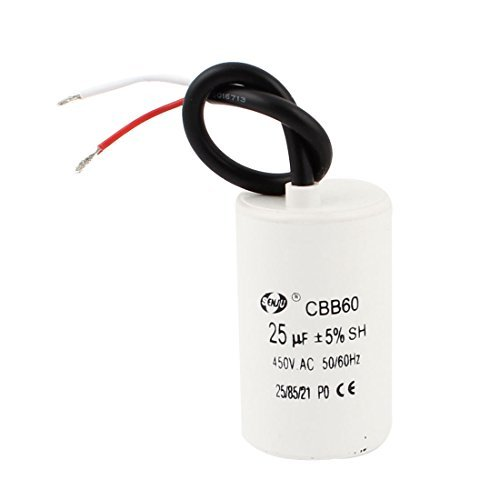 AC450V 25uF película del polipropileno Lavadora electrolítico Condensador de funcionamiento del Motor: Amazon.com: Industrial & Scientific