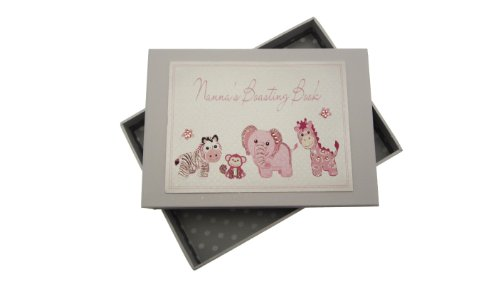 [해외]White Cotton Cards Nanna`s Boasting Book Tiny Photo Album Toys Range (Pink) / White Cotton Cards Nanna`s Boasting Book Tiny Photo Album Toys Range (Pink)