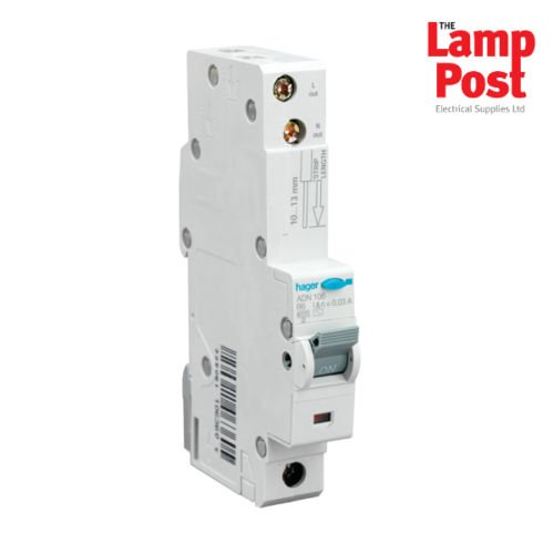 HAGER RCBO Circuit Breaker Type B CHOOSE FROM 40 AMP ADN140