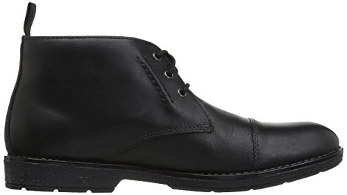 Chukka Boot Black Boot Mid Hinman CLARKS Mid Leather Black Mens CLARKS Chukka Hinman Mens 44CZvqw