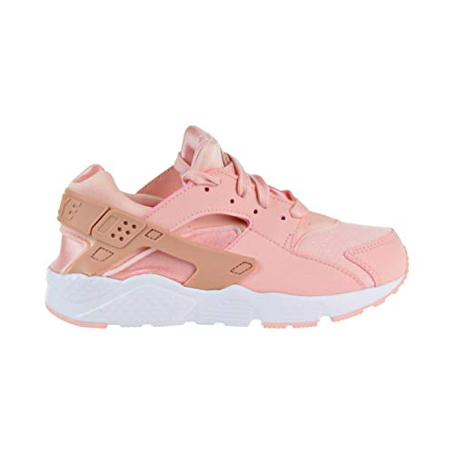 d7755cf7dd6d NIKE Huarache Run SE Little Kids  Shoes Storm Pink Rust Pink White  859591-604 (3 M US)