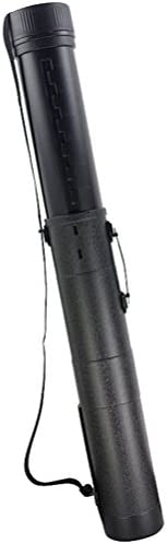 "TINTON LIFE Telescoping Document Tube 30.55""-51.97"" Expanding Poster Carrier Transports & Stores with Adjustable Gallusus"
