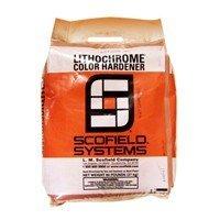 L.M. Scofield LITHOCHROME Concrete Color Hardener - 60 Lb Bag - (Terra Cotta) 60 Lb Bag Concrete