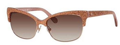Kate Spade Shira/S Sunglass-0W32 Rose Jade (B1 Warm Brown Gradient Lens)-55mm