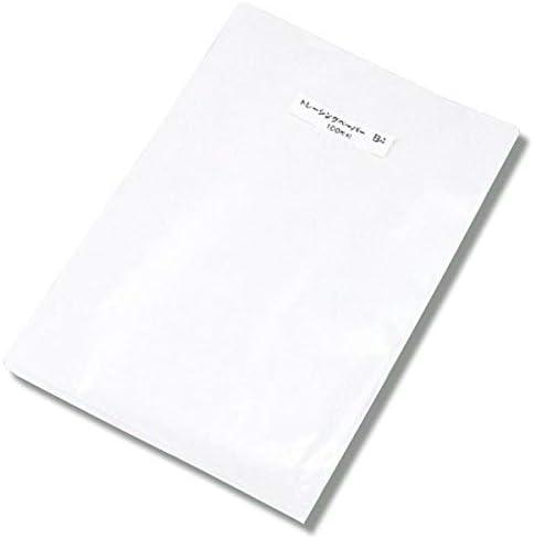 [해외]트레이싱 용지 B5 사이즈 100 장 / Tracing paper B5 size 100 sheets