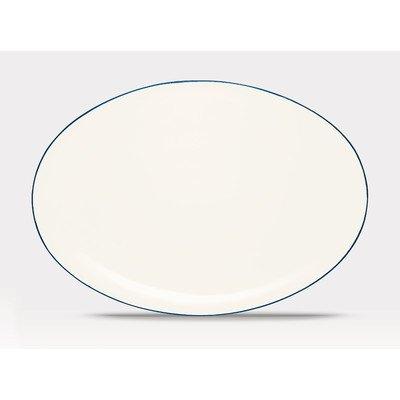 Noritake Colorwave Blue 16-Inch Oval Platter (Stoneware Noritake Platter)