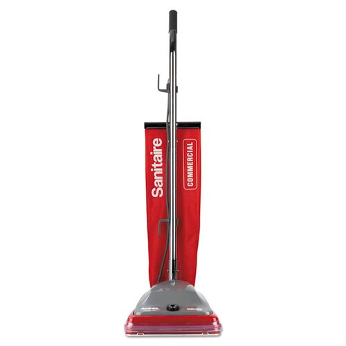 Electrolux Sanitaire Sanitaire Commercial Upright Vacuum w/Vibra-Groomer II, 16lb, Red