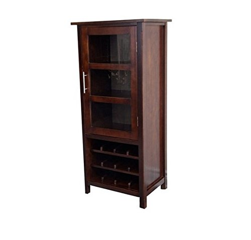 WYNDENHALL Franklin Wood High Storage Wine Rack