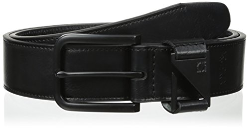 [Kenneth Cole REACTION Men's Jean Belt with Cutout Loop Detail] (Kenneth Cole Reaction Black Belt)