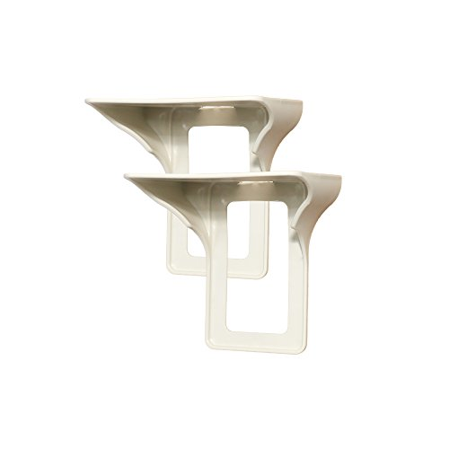 Power Perch - 2pack (almond) - The Ultimate Outlet Shelf For Your Home - No Additional Hardware Required with Damage Free Installation - As Seen On The Today Show by STORAGE THEORY