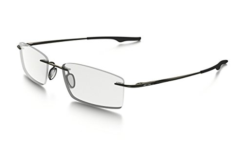Oakley Keel OX3122-0753 Eyeglasses Pewter Clear Demo 53 ()