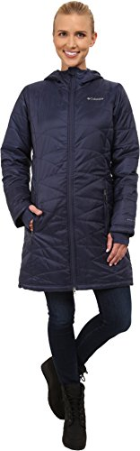 Columbia Womens Mighty Lite Hooded Jacket, Nocturnal, Small
