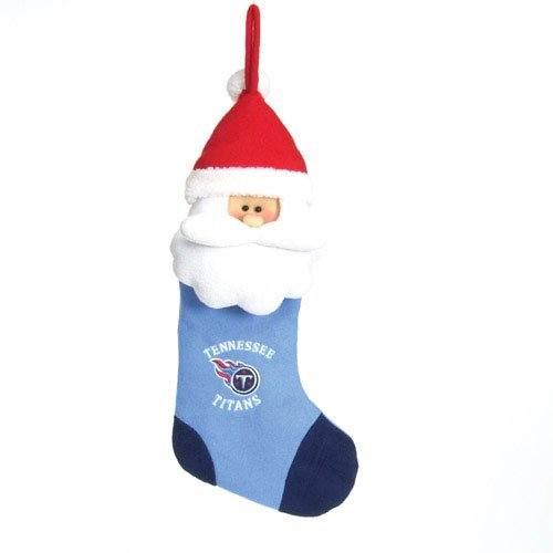 (Tennessee Titans Official NFL 2 inch Santa Stocking by SC Sports)