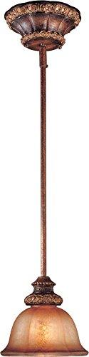Minka Lavery 1351-177, Illuminati Mini Cone Pendant, 1 Light, 100 Total Watts, Bronze