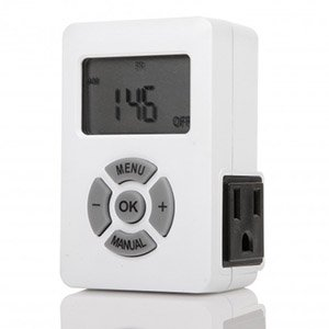 Sata Fujitsu Mobile (Otimo 7 Day Indoor Digital Programmable Timer with Countdown Timer Function, 3-Prong Outlet)