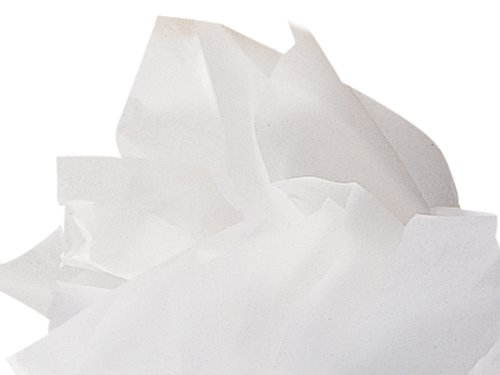 WHITE Waxed Florist Tissue PaperREAM 480 ~ 18