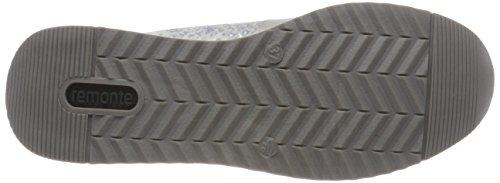 UK Women's Remonte Silber Grey Ice R7010 Trainers 5 Maus Metallic Offwhite 42 rZwz0wqxdC